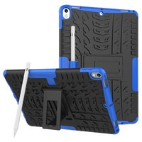 Coque iPad Air 3 (2019) et iPad Pro 10,5 pouces en polycarbonate TPU hybride Blue Profile Standard
