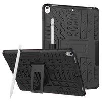 Coque iPad Air 3 (2019) et iPad Pro 10,5 pouces en polycarbonate TPU hybride - Profil noir standard
