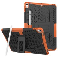 Coque iPad Air 3 (2019) et iPad Pro 10,5 pouces en TPU hybride Orange Profile Standard