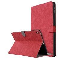 Housse en cuir pour iPad Air 3 (2019) et iPad Pro 10,5 pouces magnétique - Rouge