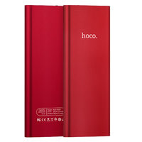 Hoco B16 Powerbank Metal Red - Batterie 10000 mAh