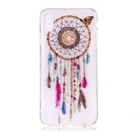 Coque Dreamcatcher Butterfly Transparent iPhone XR - Rose