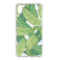 Coque en TPU transparente pour iPhone XR - verte