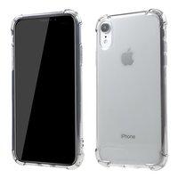 Coque Transparente Antichoc TPU iPhone XR - Gris Transparent