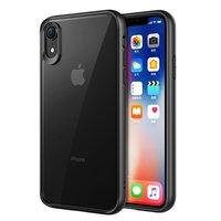 Coque Transparente Transparente pour iPhone XR - Noire