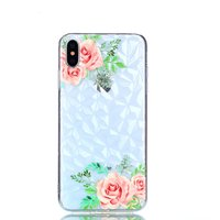Coque Diamond TPU iPhone XS Max Case - Fleurs