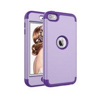 Coque iPod Touch 5 6 7 Armor Antichoc en Polycarbonate de Silicone - Violet