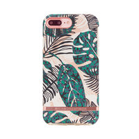 Richmond & Finch fleurs exotiques or rose iPhone 6 Plus 6s Plus 7 Plus 8 Plus - Or rose