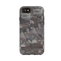 Richmond & Finch Camouflage noir marron armée print iPhone 6 6s 7 8 SE 2020 - Vert