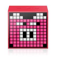 Haut-parleur Bluetooth à DEL Divoom TimeBox Mini - Rouge