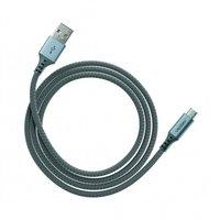 Ventev Câble de charge et de synchronisation USB-A vers MicroUSB - Gris tressé