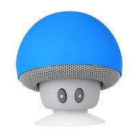 Champignon champignon haut-parleur bluetooth ventouse standard - Bleu