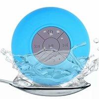 Haut-parleur de douche et de bain Bluetooth résistant aux éclaboussures - Bleu