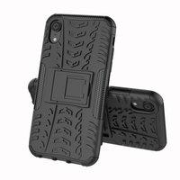 Coque anti-choc hybride standard pour iPhone XS Max - Noire