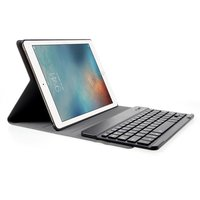 Etui clavier QWERTY étui en cuir bluetooth iPad 2017 2018 Pro 9.7 Air 2