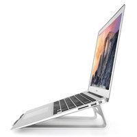 Support universel pour ordinateur portable en aluminium, standard 11-15 pouces - Argent