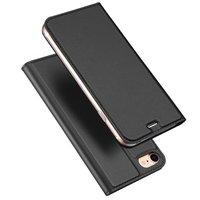 Étui Dux Ducis Cover avec étui en cuir pour iPhone 7 8 - Noir