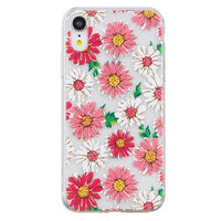 Madeliefjes TPU hoesje iPhone XR cover