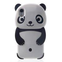 Panda Housse en silicone pour iPhone XR