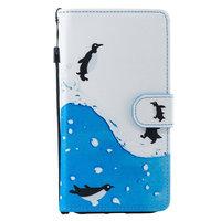Pinguin Wallet iPhone XR Kunstleer Bookcase cover - Standaard