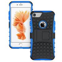 Coque standard hybride noire et noire pour iPhone 7 8