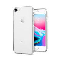 Coque iPhone 7 8 SE 2020 transparente Spigen Liquid Crystal - Transparente