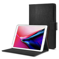 Coque iPad 9.7 Spigen Case Stand Folio - Noire