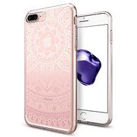 Coque Spigen Liquid Crystal Shine pour iPhone 6 Plus 6s Plus 7 Plus 8 Plus - coque rose