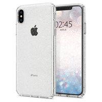 Spigen à cristaux liquides Glitter étui transparent iPhone XS Max Cas