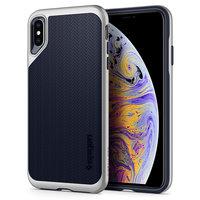 Spigen Neo Hybrid Case boîtier en argent iPhone XS Max Cas