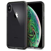 Spigen Neo Hybrid Crystal transparent iPhone XS Max Cas - gris étui transparent