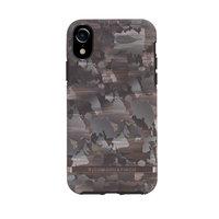 Coque iPhone XR Richmond & Finch Concrete Camouflage - coque grise