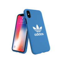 adidas Originals Molded Case BASIC FW18 coque iPhone X XS coque bleue