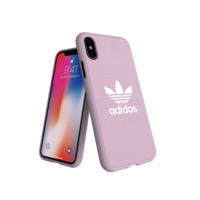 Étui moulé adidas Originals CANVAS FW18 iPhone X XS rose