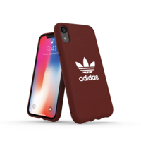 Étui moulé adidas Originals CANVAS pour iPhone XR - Rouge