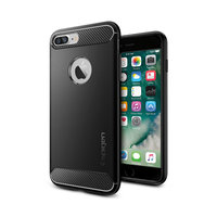 Coque iPhone 7 Plus 8 Plus Spigen Rugged Armor - Noire