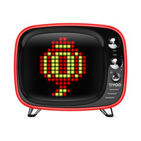 Divoom Tivoo Pixel Art haut-parleur Bluetooth - Rouge
