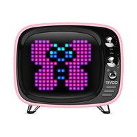 Divoom Tivoo Pixel Art haut-parleur Bluetooth - Rose