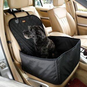 Housse de siège de chien pour chien panier de siège pour animaux étanche - Noir
