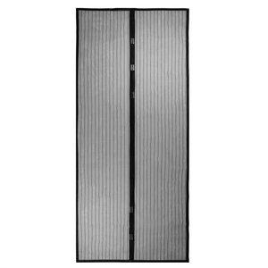 Magnetisch sluitbare Muskiettennetgordijn Hor - Zwart 100x210cm