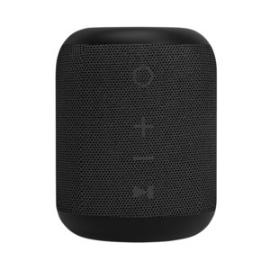 Mini haut-parleur Bluetooth étanche Xqisit - noir résistant à l'eau