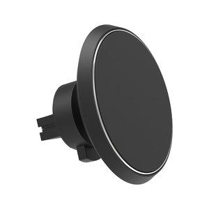 Support de téléphone X-Moove Grille de ventilation de voiture Charge sans fil - Noir