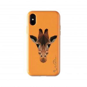 Coque iPhone X XS Wilma Glow in the Dark Savanna Girafe