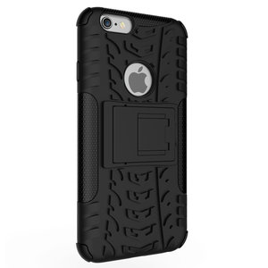 Coque iPhone 6 6s Antichoc Protection Sleeve - Noire