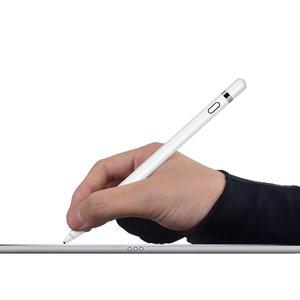 Étui à gants anti-toucher Apple Pencil Samsung Stylus - Noir Main droite
