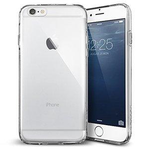 Coque en TPU transparent pour coque transparente iPhone 6 6s