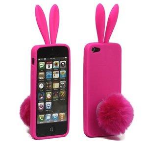 coque iphone 4 lapin rose
