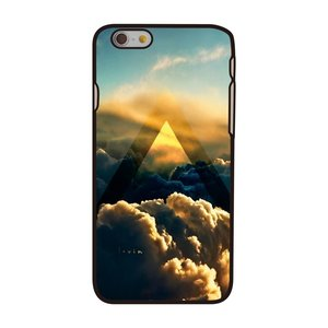Etui Clouds Etui rigide iPhone 6 6s noir avec motif Cloud Sunlight