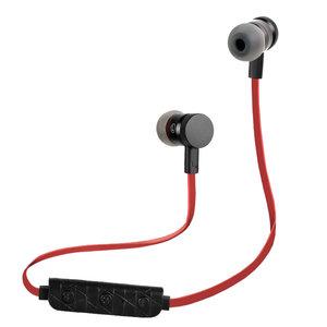 BH-M9 Écouteurs intra-auriculaires mains libres sans fil Bluetooth 4.1 Sport micro - Noir Rouge