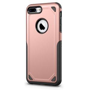 Étui de protection Pro Armor pour iPhone 7 Plus 8 Plus - Étui en or rose